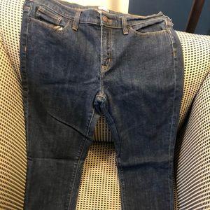 J Crew skinny jeans size 12